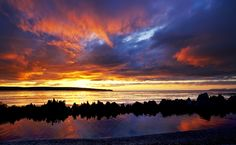 Sunset over Thurso Bay, Scotland