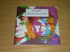 ART BRUT - Bang Bang Rock & Roll - CD - FIERCE PANDA - with DRAW OWN POSTER