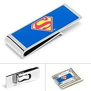 Superman Logo Blue Money Clip - http://lopso.com/interests/dc-comics/superman-logo-blue-money-clip/