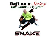 Basketball Ball Control Program - Ball on a String