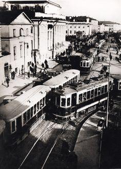 Наум Грановский. Проезд между Сухаревской и бол. Склифасофского. 1933 г.