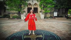 I did it!  | #bostonuniversity #bu2016 #graduation #classof2016 #proudtobu by hesilf