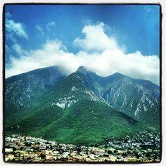 Monterrey, cerro de la silla. Mx