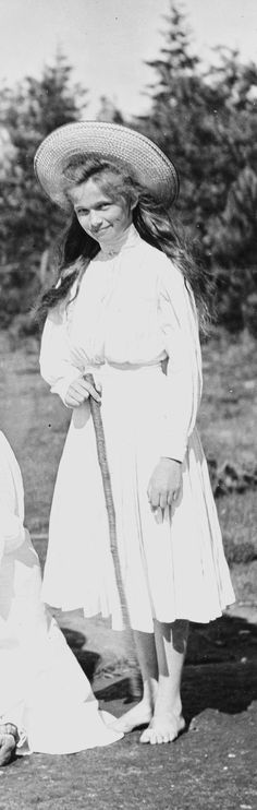 Grand Duchess Olga Romanov, oldest daughter of Nicholas Romanov ll, the last Tsar of Russia.
