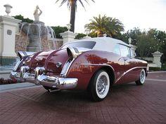 "1954 Buick Skylark. ""Does my bum look big in this?"""