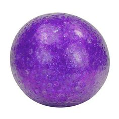 A fistful of glistening beads encased in a tactiley velvet skin! This delightful sensory ball fidget toy is designed for gentle stretching only. A calming stress relief ball for sensory seekers and fidgeters of all ages (3-up). Glitter Bead Balls makes a soft crunching sound when you manipulate them; they come in pretty assorted sparkling colors. You'll love these neat sensory fiddle tools! Designed for gentle fidgeting. Fidget Cube, Fidget Toys, Sensory Toys, Squishies, Stress Relief, Calming, Stretching, Things That Bounce, Balls