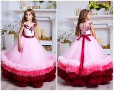 Look Your Best With This Fashion Advice – Top Clothes Boutique Red Flower Girl Dresses, Flower Girl Tutu, Girls Formal Dresses, Wedding Dresses, Burgundy Bridesmaid Dresses, Burgundy Dress, Dress Red, Bridesmaid Gowns, Toddler Flower Girl Dresses