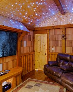 The kids will feel like they're in a starlit & magical movie room.   Featured Cabin: Sierra Springs