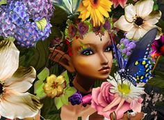 """Flower Power"" pretty love it muah xD Flower Power, Pixie, Today Pictures, Weird Tattoos, Land Art, Imvu, Pretty Flowers, Swagg, Street Art"