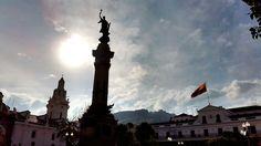 Plaza de Independencia, Quito.