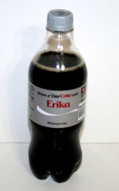 Share-a-Coke-Bottle-ERIKA-Coca-Cola-20-Oz-Ounce-2014-Limited-Edition