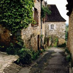 Castelnaud-La-Chapelle - Village médiéval (Dordogne / France)