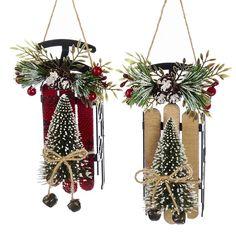 Rustic Christmas Ornaments, Handmade Christmas Decorations, Christmas Diy, Primitive Christmas Ornaments, Homemade Christmas Crafts, Diy Christmas Projects, Christmas Crafts To Make And Sell, Homemade Xmas Decorations, Primitive Christmas Decorating