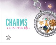 All these charms to choose from