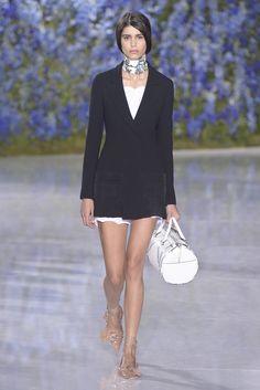 Dior RTW Spring 2016 - putting a blazer to work.