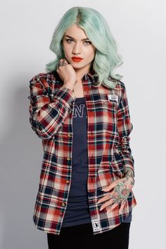 Image of Wolves Checked Shirt