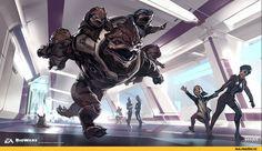 Mass Effect,фэндомы,Turian,ME расы,Asari,Krogan,Salarian,Mass Effect Andromeda,Ben Lo