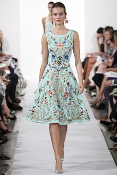 Oscar de Renta, Ready-to-wear, Spring-Summer 2014