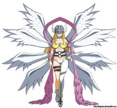 Angewomon Reference by HolyNiwa