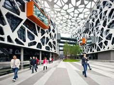 Alibaba Company headquarters in China. Designed by Hassell Architects.