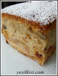 elmalı-üzümlü kek