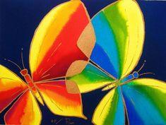 dos mariposas - vendido