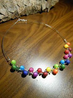 Neu unikat Regenbogen Polariskette Halskette Polaris perlen Collier Kette Stern in Uhren & Schmuck, Modeschmuck, Halsketten & Anhänger | eBay