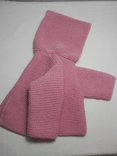 Abrigo de bebé con capucha