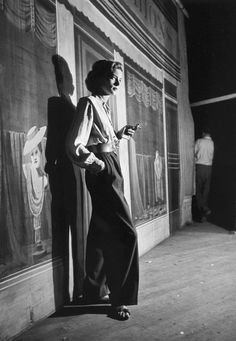 A 1948 photo of Lauren Bacall by Alfred Eisenstaedt