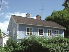Country Colour (2507 Dove Blue) on exterior cladding