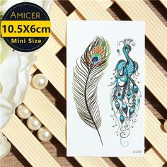Waterproof Temporary Tattoos stickers cute lovely unicorn tattoo 10.5*6cm Water Transfer fake tattoo Flash Tattoo for kids girl