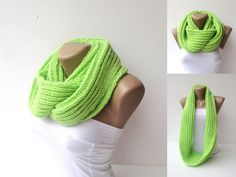 infinity knitted women scarf women scarf hand knitted