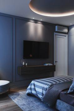 - m a s t e r b e d r o o m - on Behance Modern Luxury Bedroom, Luxury Bedroom Design, Master Bedroom Interior, Bedroom Furniture Design, Home Room Design, Master Bedroom Design, Luxurious Bedrooms, Home Decor Bedroom, Interior Design