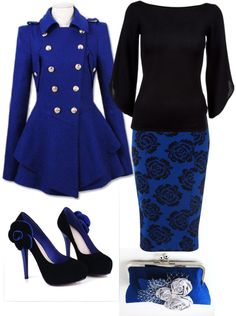 """""""Blue rose."""" by kristina-norrad ❤ liked on Polyvore"""