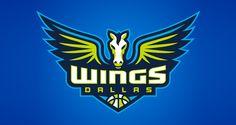 Dallas Wings   Logo Design   The Design Inspiration