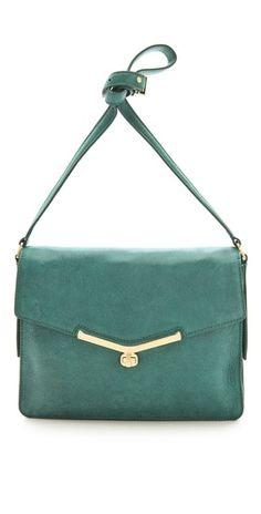 teal bag for fall