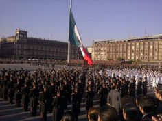 Feliz Dia de la Bandera, México.