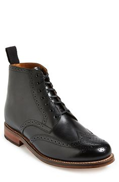 Grenson 'Alfred' Wingtip Boot (Men) available at #Nordstrom