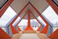 Polygonal Pavilion in Netherlands by Frank Havermans – Fubiz Media