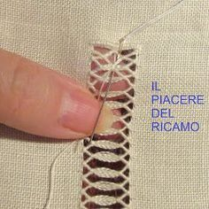 753 Best crivo images in 2019 Types Of Embroidery, Hand Embroidery Stitches, Embroidery Needles, Embroidery Techniques, Embroidery Patterns, Hardanger Embroidery, Beaded Embroidery, Hem Stitch, Cross Stitch