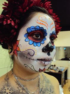 great day of the dead makeup, getting ideas for halloween
