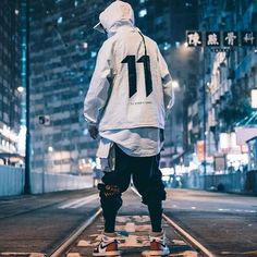 103 mens fashion style outfits for winter – page 1 Style Streetwear, Streetwear Summer, Streetwear Fashion, Moda Cyberpunk, Cyberpunk Fashion, Style Outfits, Cool Outfits, Fashion Outfits, Summer Outfits