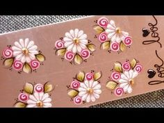 Adesivo de unha super fácil - YouTube Manicure And Pedicure, Pedicures, Nail Stickers, Bottle Art, Nail Arts, Nails Inspiration, Adhesive, Flowers, Erika