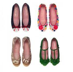 Moda scarpe estate 2012: meravigliose pretty ballerinas....