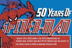 50 Jahre Spider-Man – Was ihr alles wissen solltet on http://www.drlima.net