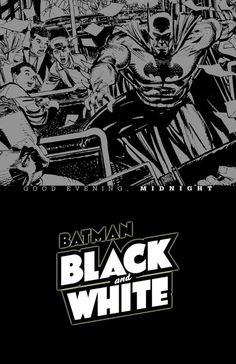Batman Black & White: Good Evening, Midnight cover Klaus Janson. Free Batman Comics.