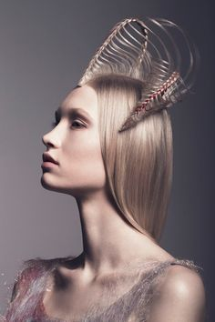 Christophe Gaillet коллекция авангардных причесок 2016 Amazones Crazy Hair, Cool Hairstyles, Creative Hairstyles,