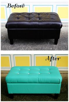 Admirable Reupholster Ottoman Diy Crafting Gmtry Best Dining Table And Chair Ideas Images Gmtryco