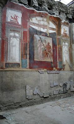 Hall of the Augustales (79CE) ♦ Herculaneum (Ercolano), Campania, Italy | Flickr - Photo by Tintern