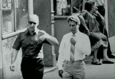 Bobby Manna on right former genovese consigliere
